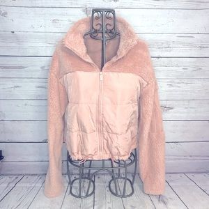 PINK Victoria's Secret Reversible Teddy Jacket